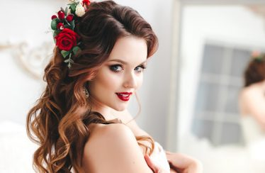Wedding Hairstyles for a Round Face Shape