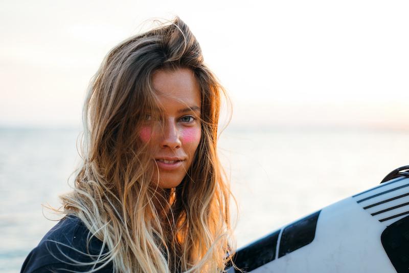 Long beach wave hair