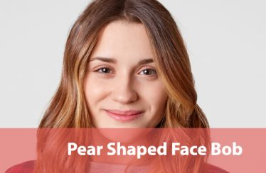 Pear Shaped Face bob