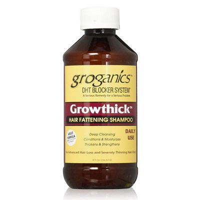 Groganics DHT Grow Thick Hair Fattening Shampoo