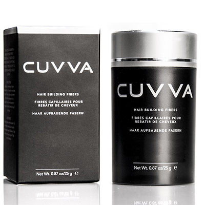 CUVVA Hair Fibers - Hair Loss Concealer for Thinning Hair