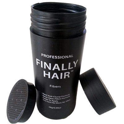 Finally Hair Keratin Hair Building Fibers