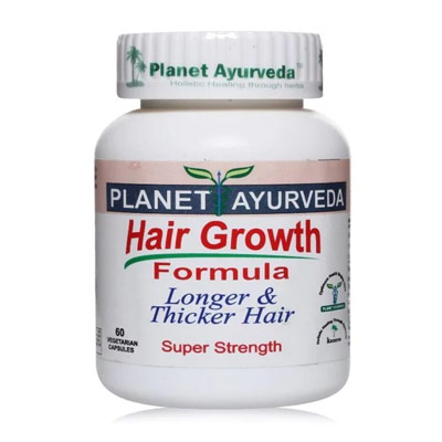 Planet Ayurveda - Thinning Hair Regrowth Balding Treatment For Men