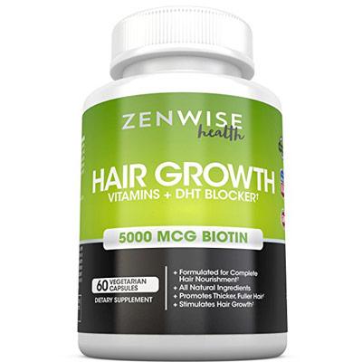 Hair Growth Vitamins Supplement by Zenwise Health