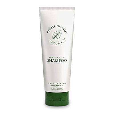 Christina Moss Shampoo, Organic and 100% Natural for All Hair Types
