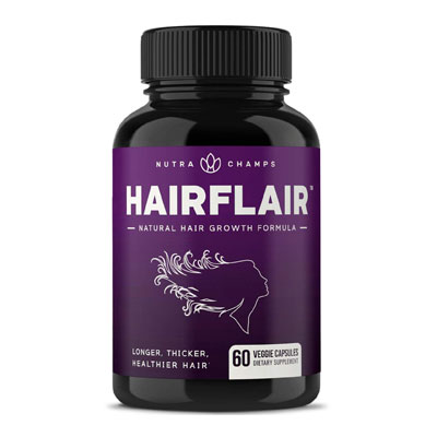 HAIRFLAIR - Hair Growth Vitamins with Biotin for Longer, Stronger, Faster, Healthier Hair