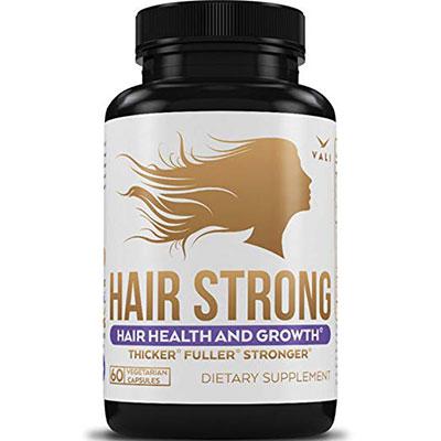 Hair Health Growth Vitamins with Biotin & Keratin