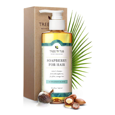 Soapberry for Hair, Activation Blend Shampoo by Tree to Tub