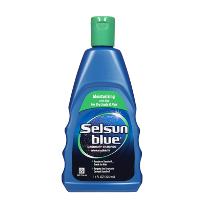 Selsun Blue Moisturizing Shampoo with Aloe Dandruff