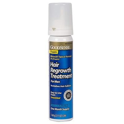GoodSense Minoxidil Topical Aerosol Foam Hair Regrowth Treatment