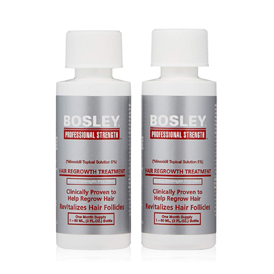 Bosley Professional Strength Men's Hair Re-growth Treatment