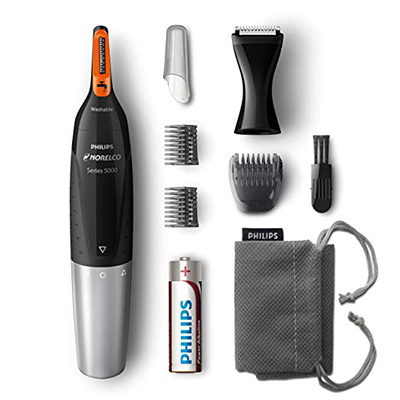 Philips Norelco Nose, Ear, and Eyebrow Hair Trimmer NT5175/49