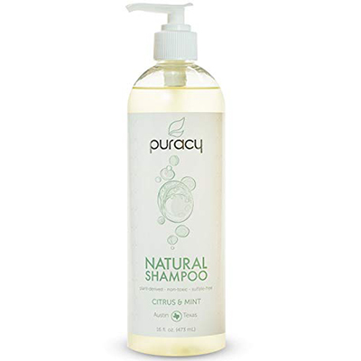 Puracy Natural Daily Sulfate-Free Hair Shampoo