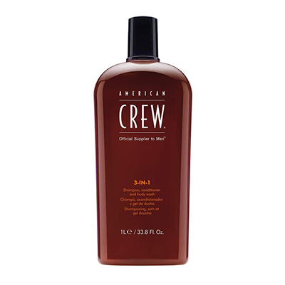 American Crew Men Classic 3 in 1 Shampoo/Conditioner/Body Wash