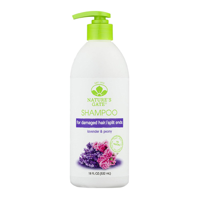 Nature's Gate Natural Lavender and Peony Replenishing Daily Shampoo