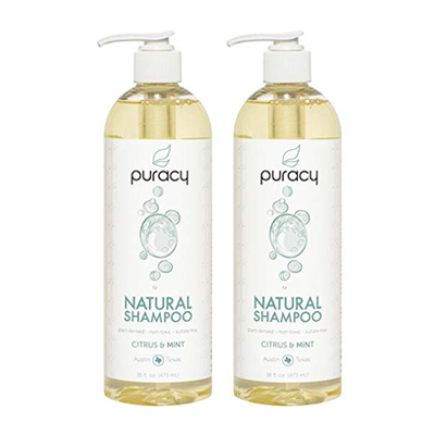 Puracy Natural Daily Shampoo Set