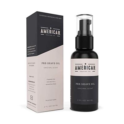 American Shaving Pre-Shave Oil