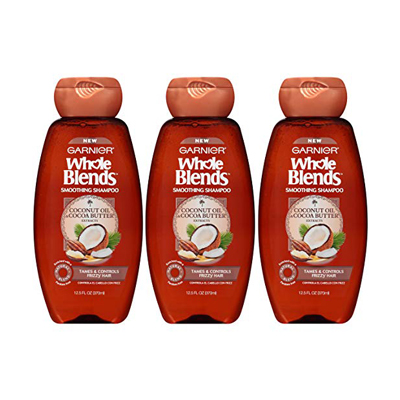 Garnier Whole Blends Smoothing Shampoo