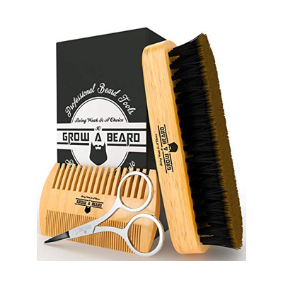 Grow A Beard Brush and Comb Set