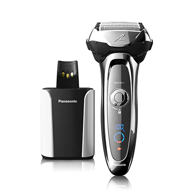 Panasonic Arc5 Electric Shaver and Trimmer w/ Charge Station