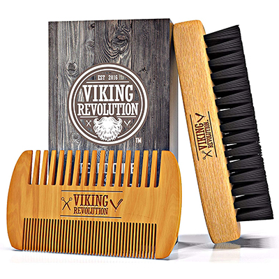 Viking Revolution Beard Brush and Comb