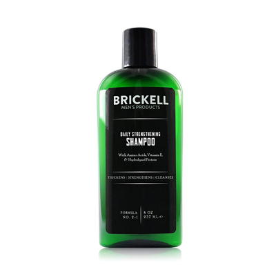 Brickell Men's Daily Strengthening Shampoo