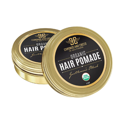 Chronos and Creed Organic Hair Wax Pomade for Men