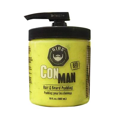 GIBS Grooming Con Man Hair and Beard Pudding