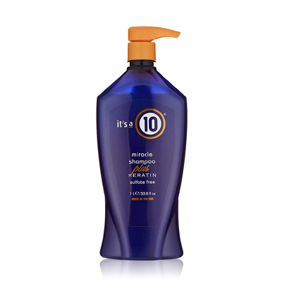 It's a 10 Miracle Shampoo Plus Keratin