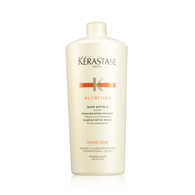 Kerastase Nutritive Bain Satin 2 Nutrition Shampoo For Dry and Sensitized Hair