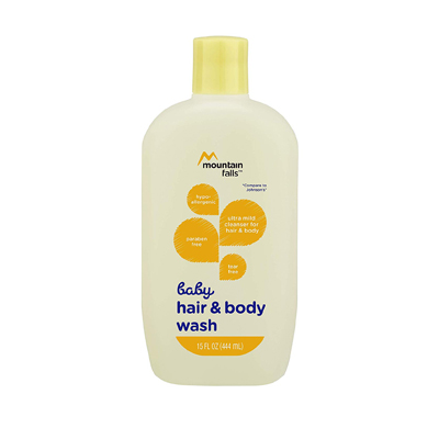 Mountain Falls Hypoallergenic Tear-Free Baby Hair and Body Wash