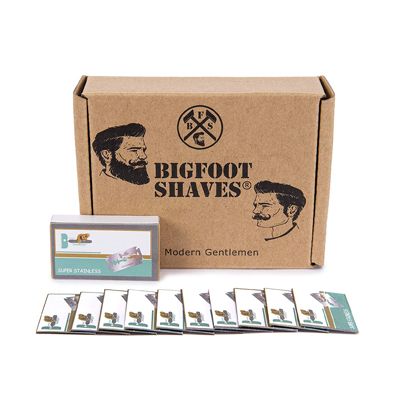 Bigfoot ShavesDouble Edge Razor Blades