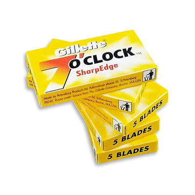 Gillette 7 O'clock SharpedgeDouble Edge Razor Blades