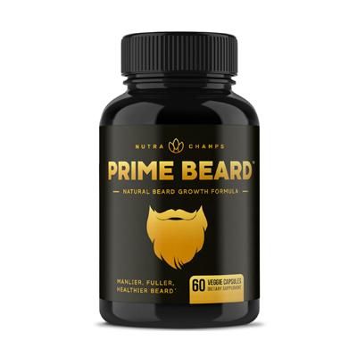 NutraChamps Prime Beard Growth
