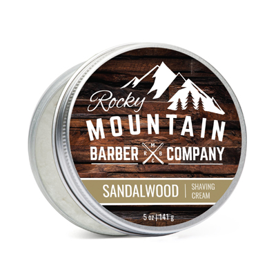 Rocky Mountain Barber Co. Shave Cream