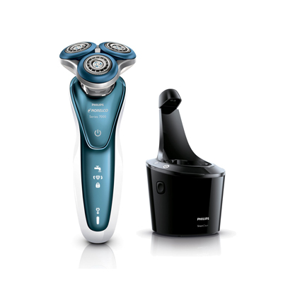 Philips Norelco Men's Electric Shaver 7500 for Sensitive Skin