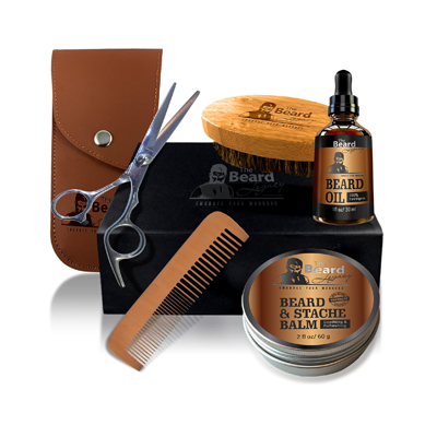 Beard Grooming and Trimming Kit by The Beard Legacy