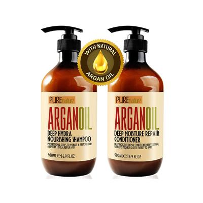 Pure Nature Lux Spa Moroccan Argan Oil Shampoo and Conditioner