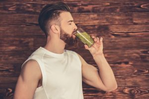Multivitamin and a Beard Growth Supplement