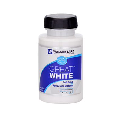 Walker Tape Great White soft bond Adhesive