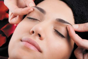 Massage Your Eyebrows