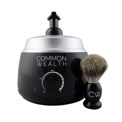Common Wealth Professional Deluxe Hot Lather Machine Barber Latherizer