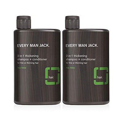 Every Man Jack 13.5 Ounce 2-in-1 Thickening Shampoo + Conditioner