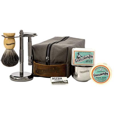 Gentleman Jon Deluxe Wet Shave Kit