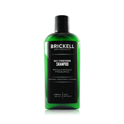Brickell Men's Products Daily Strengthening Shampoo for Men