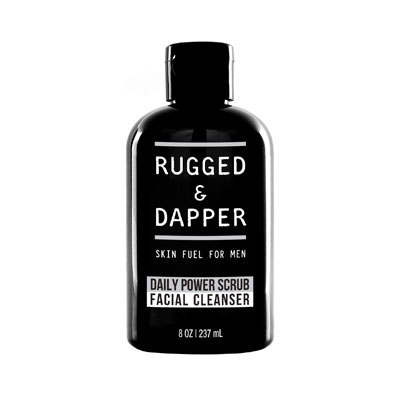 RUGGED & DAPPER Daily Face Wash and Scrub Cleanser