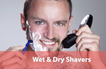 Wet-&-Dry-Shavers