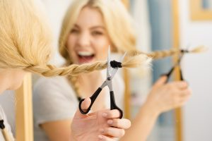 Cutting the Hair at Home