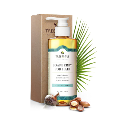 Tree to Tub Soapberry for Hair Shampoo