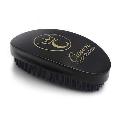 Crown Quality Products 360 Gold Caesar Wave Brush #7760